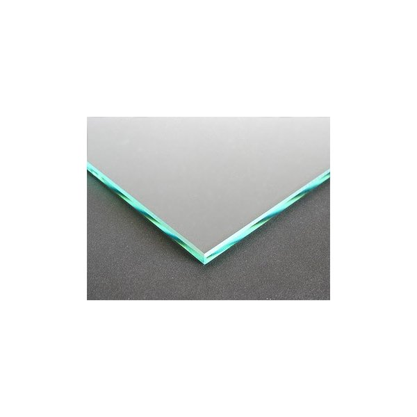 ガラスマット 硝子敷き(長方形 正方形)国産の硝子 板硝子(板厚5ミリ) 糸面取り加工(面取り幅1〜2ミリ):800x1500mm