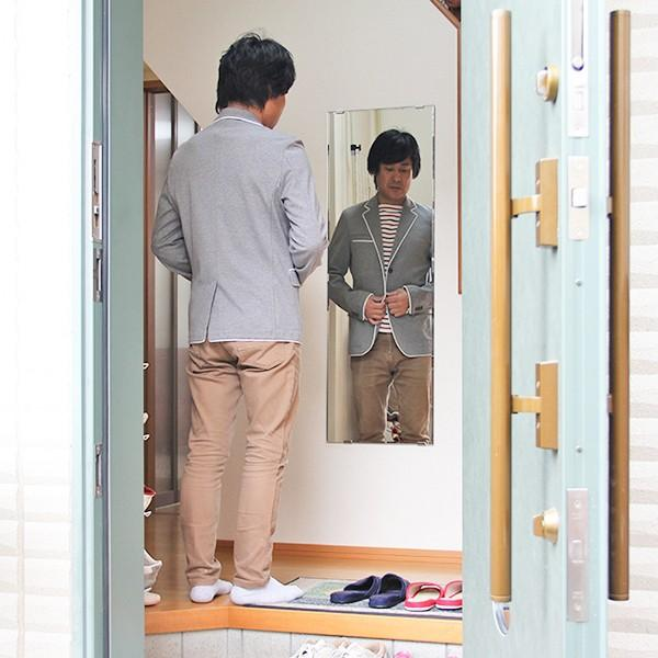 鏡 貼る 全身 大型 姿見  DIY ミラー 鏡セット|kagamishop|13