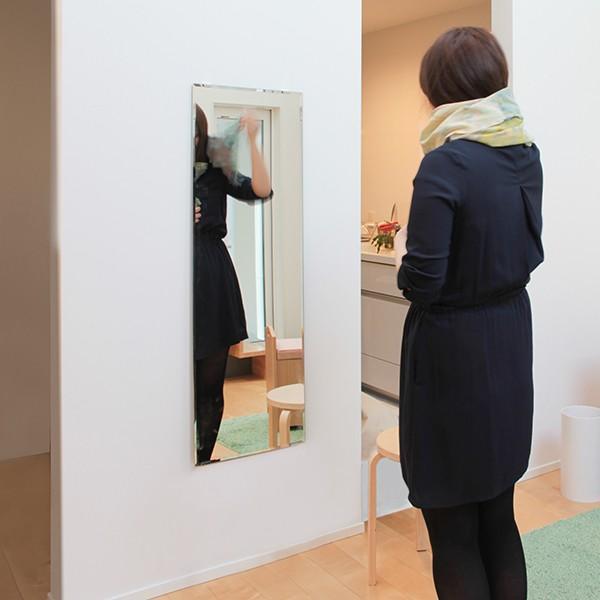 鏡 貼る 全身 大型 姿見  DIY ミラー 鏡セット|kagamishop|04