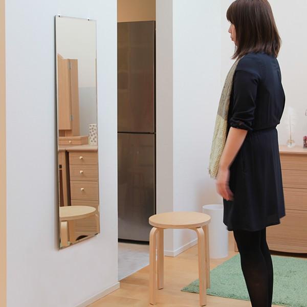 鏡 貼る 全身 大型 姿見  DIY ミラー 鏡セット|kagamishop|05