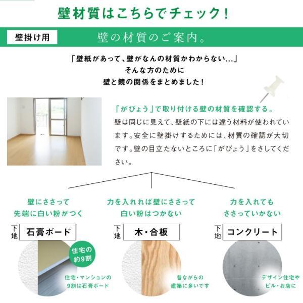 コンクリート 用 メイク鏡 フェイスミラー 取付用品セット F|kagamishop|05