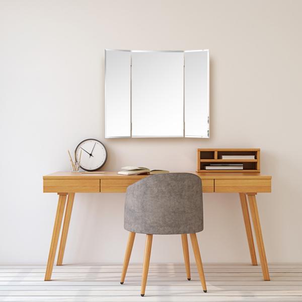 鏡 三面鏡 壁掛け コンパクト ドレッサー クイーン|kagamishop|12
