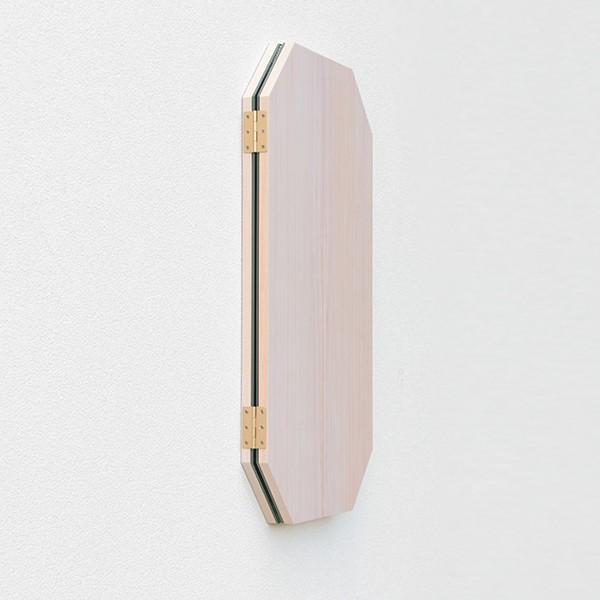 鏡 八角形 三面鏡 壁掛け ドレッサー 風水|kagamishop|19