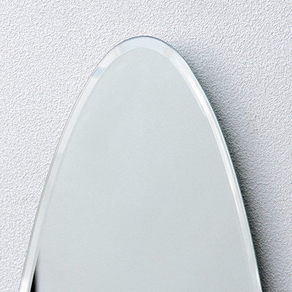 貼る 鏡 全身 壁掛け ミラー 姿見 賃貸 マンション 丸|kagamishop|05
