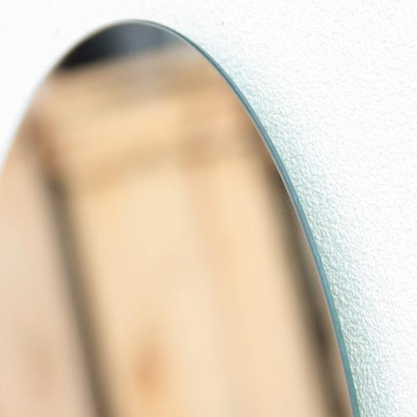鏡 貼る 壁掛け トイレ おしゃれ 楕円 オーバル|kagamishop|14