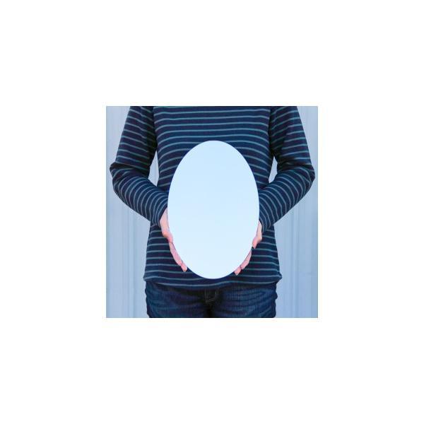 鏡 貼る 壁掛け トイレ おしゃれ 楕円 オーバル|kagamishop|08