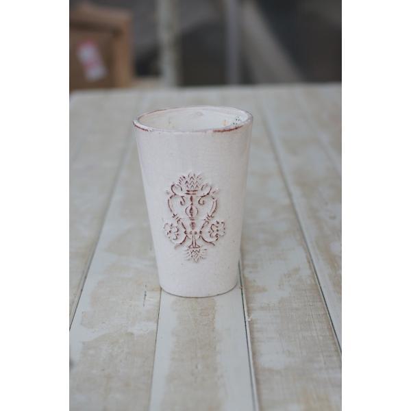 アンティ―クロングポット 花、ガーデニング 園芸用品 鉢、プランター 植木鉢 DIY、工具 庭、ガーデニング 鉢、プランター 植木鉢 (4053)|kagoen-nursery