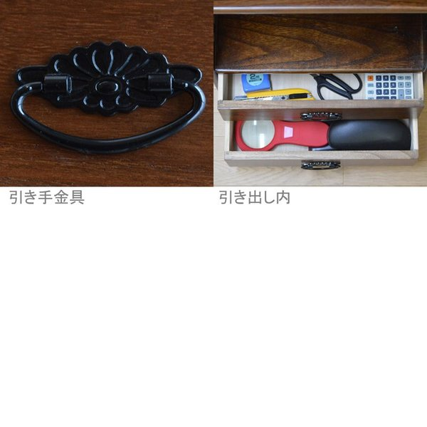 ローキャビネット 桐飾り棚 完成品 天然木 桐製 OSK-K060 大竹産業|kagu-11myroom|03