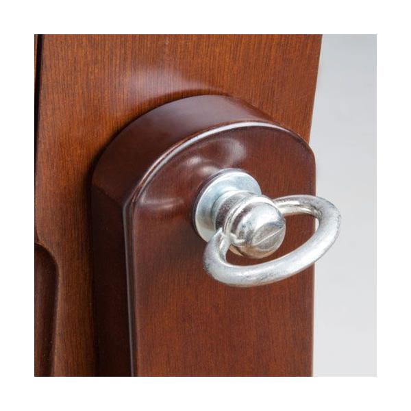 スタンドミラー 姿見 鏡 アクセサリー収納 ハイタイプ ブラウン OSK-ST107BR 大竹産業|kagu-11myroom|04