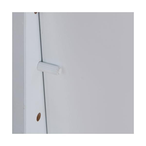 スタンドミラー 姿見 鏡 アクセサリー収納 ロータイプ ホワイト OSK-ST108WH 大竹産業|kagu-11myroom|02