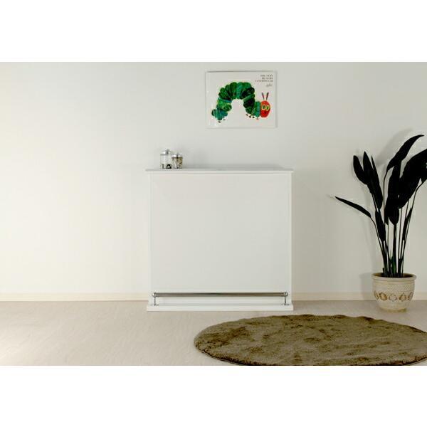 バーカウンター キッチンカウンター テーブル 幅100 100幅 ハイカウンター 大川家具 おしゃれ 完成品 日本製 キッチン収納 ホワイト アウトレット価格並|kagu-1|04