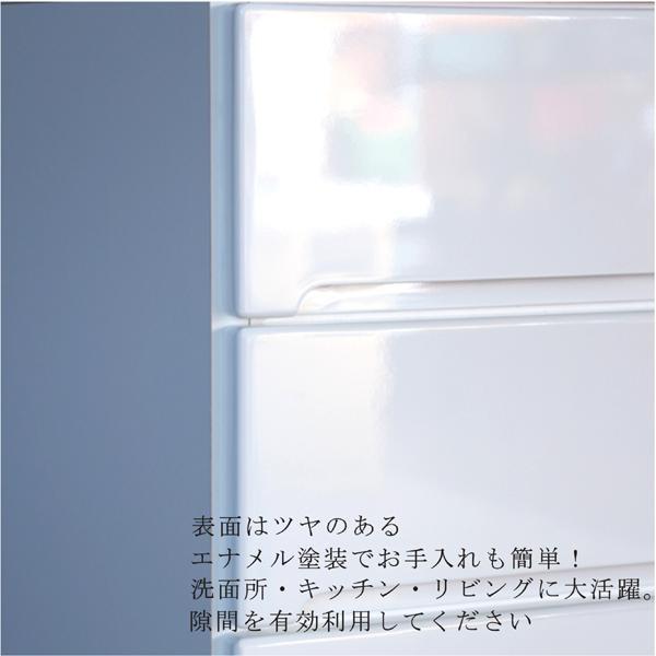 キッチンカウンター すきま収納 幅35 すきま家具 大川家具 35幅 隙間収納 幅35 隙間家具 ホワイト キッチン収納 白 完成品 日本製 木製 センチ|kagu-1|02