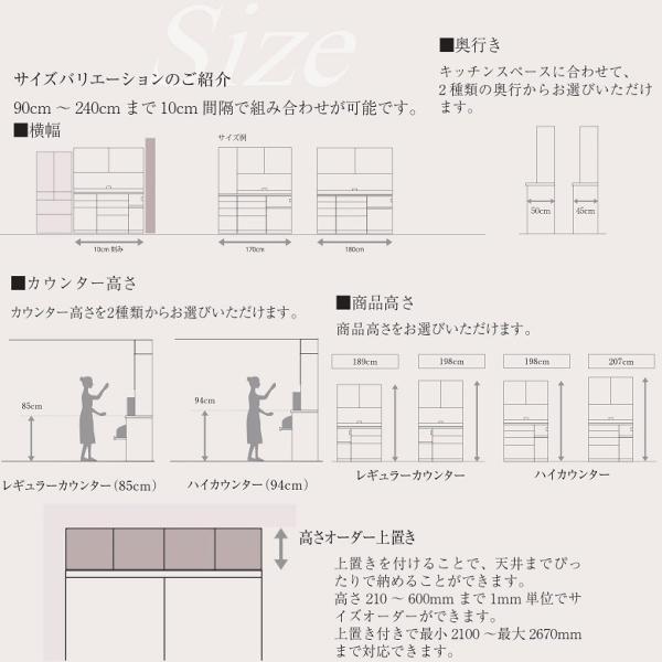 パモウナ カウンタートップ ハイグロス天板 上台組み合せ TRC-180 天板幅180cm|kagu-hiraka|06