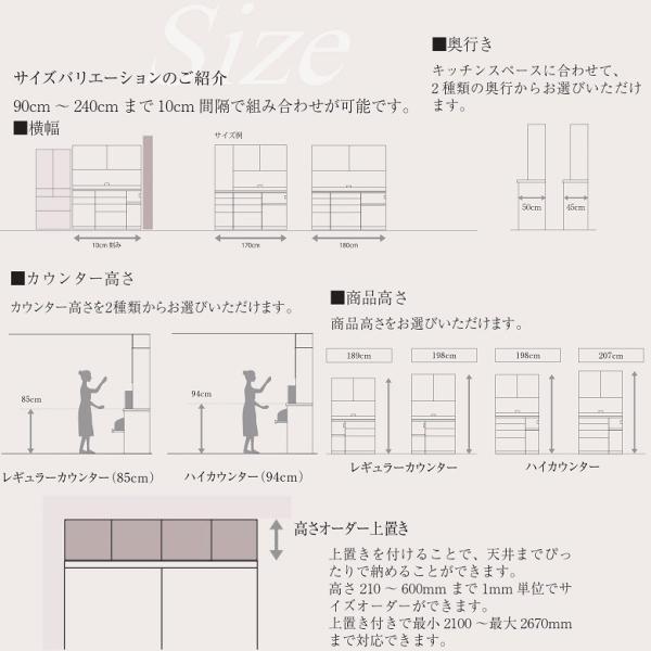パモウナ オープン UKH-S602 奥行45cm 幅60cm 下台 ユニット ハイカウンター高さ|kagu-hiraka|06