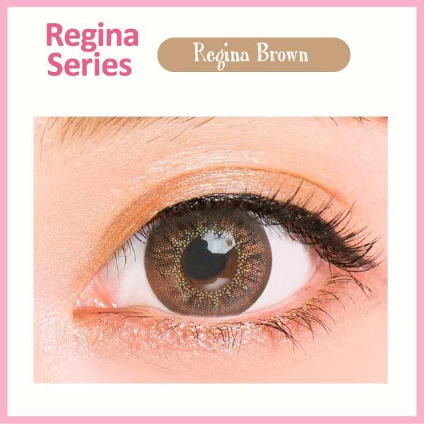 カラコン 1ヶ月用 1枚入り 度あり 0.50〜 10.00 クオーレ ルナ レジーナシリーズ ブラウン Quore Regina Luna|kagu-piena|02