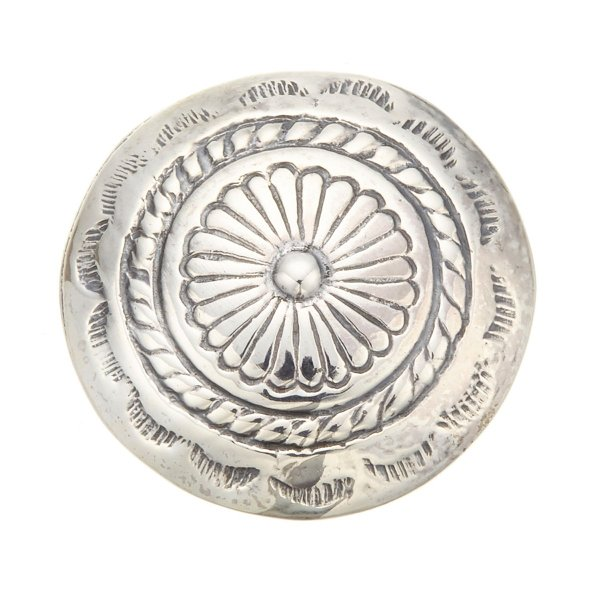 コンチョ インディアン ボタン ネジ式 ループ式 カスタムパーツ 2cm