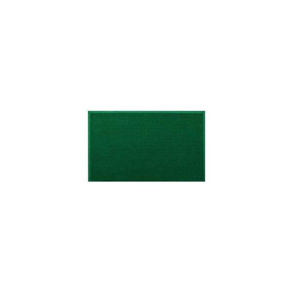 クリーンテックス・ジャパン 玄関マット ウォーターホースT W146×D88 グリーン 1枚 〔業務用〕