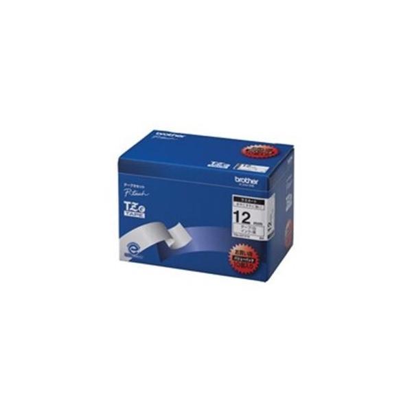 brother ブラザー工業 文字テープ/ラベルプリンター用テープ 〔幅:12mm〕 10個入り TZe-231V 10 白に黒文字