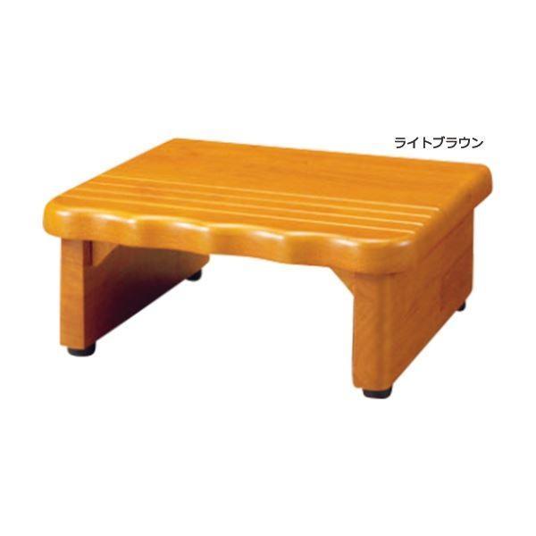 天然木和風玄関台(踏み台) 〔1: 幅45cm〕 木製(天然木) ライトブラウン