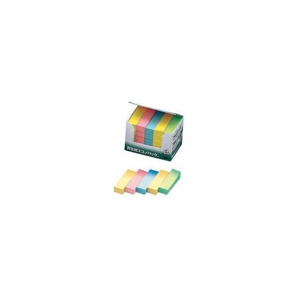 (まとめ)スリーエム 3M ポストイット 再生紙見出し 7001-GK 混色〔×3セット〕