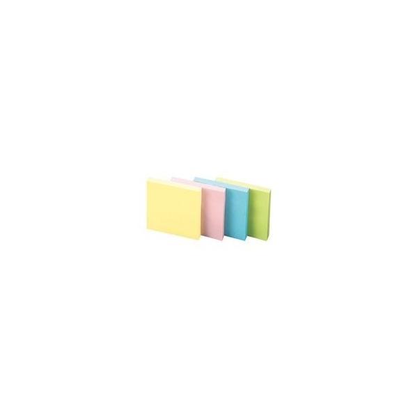 (まとめ)スリーエム 3M ポストイット 再生紙ノート 6541-K 混色〔×2セット〕