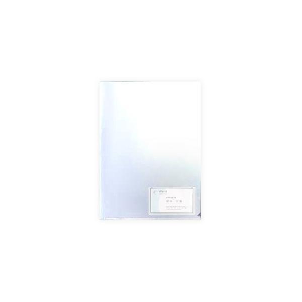 (まとめ) G-Aim クリアホルダー 名刺ポケット付 A4 YG-10-10 1パック(10枚) 〔×20セット〕