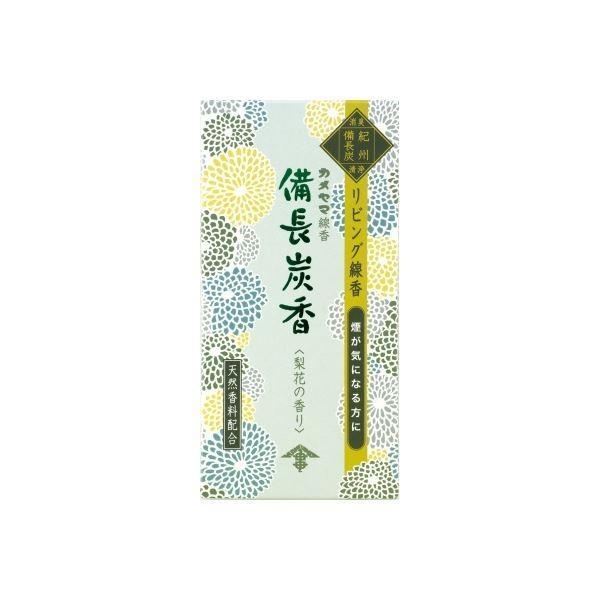 (まとめ)カメヤマ ハナゲシキビンチョウタン 花げしき備長炭香梨花の香り 〔×3点セット〕