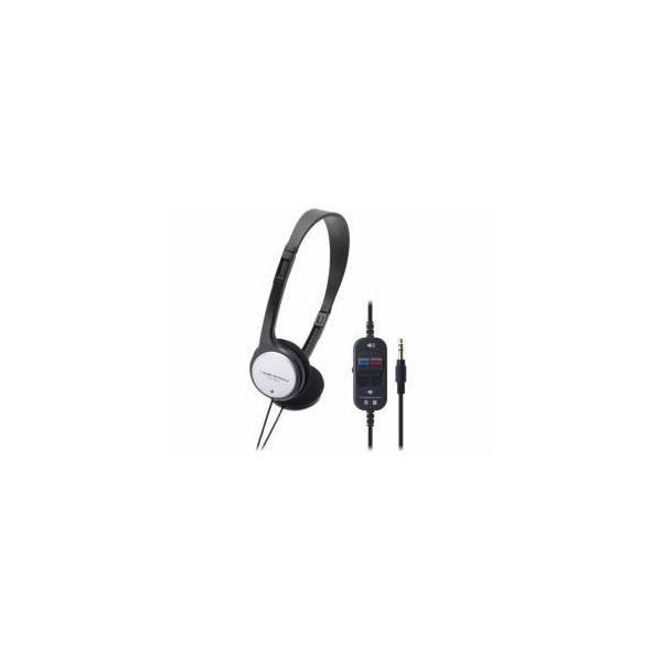 (まとめ) Audio-Technica オーディオテクニカ テレビ用ヘッドホン ATHP151TV 〔×3セット〕
