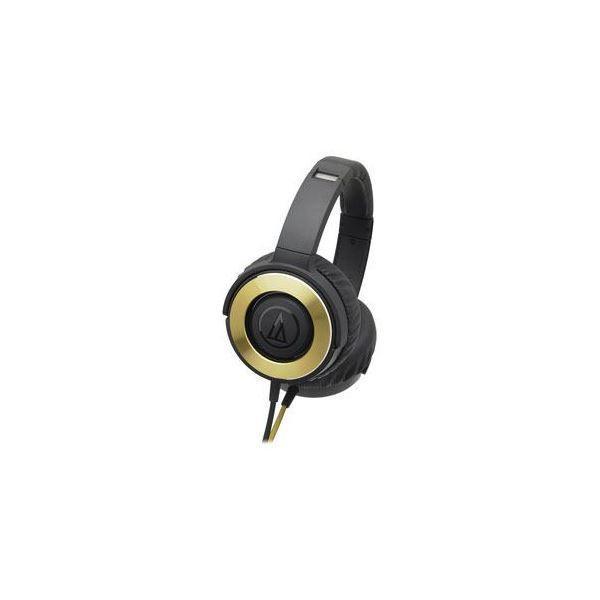 Audio-Technica オーディオテクニカ ダイナミック密閉型ヘッドホン ブラックゴールド ATH-WS550-BGD