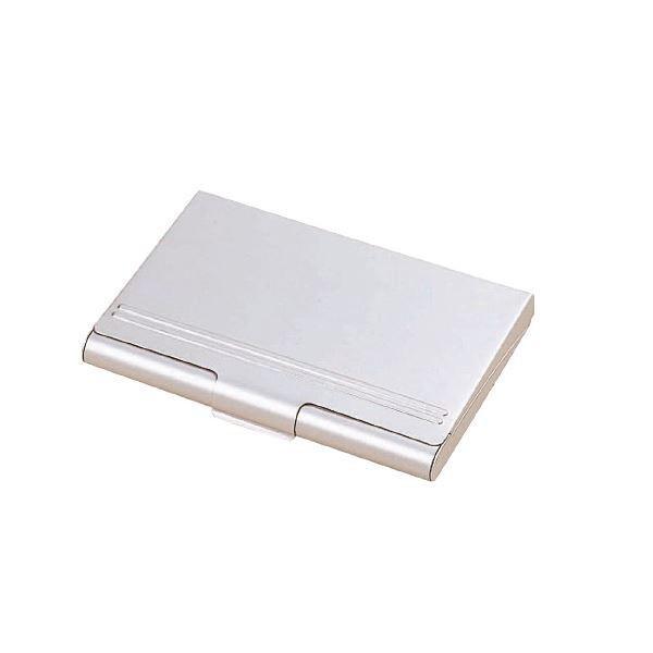 (まとめ)レイメイ藤井 アルミカードケース 35枚収納 CHA520〔×50セット〕