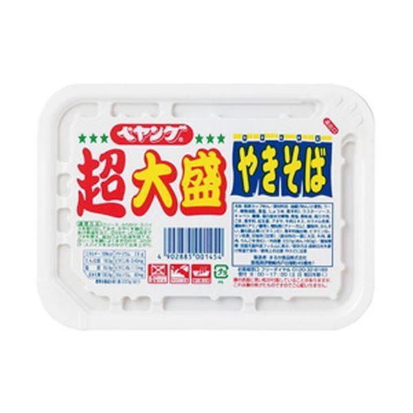 (まとめ)まるか食品 ぺヤング ソースやきそば 超大盛 1箱(12個)〔×2セット〕