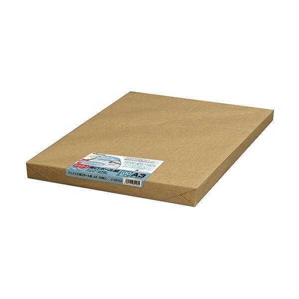 (まとめ)長門屋商店 ドット入薄口ボール紙 A3ナ-DB153 1パック(100枚)〔×3セット〕