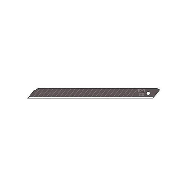(まとめ) 貝印カミソリ 黒替刃ロング 24B-501ケース(50枚) 〔×10セット〕