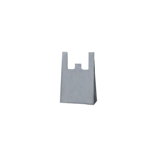 (まとめ) TANOSEE シルバーレジ袋 60号 ヨコ350×タテ600×マチ幅150mm 1パック(100枚) 〔×10セット〕