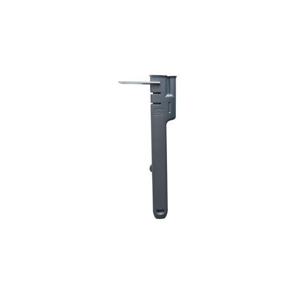 (まとめ)灯油ポンプ専用収納ケース ポンプストッカー タンク口径50mm専用 グレー PS-1 〔×3セット〕