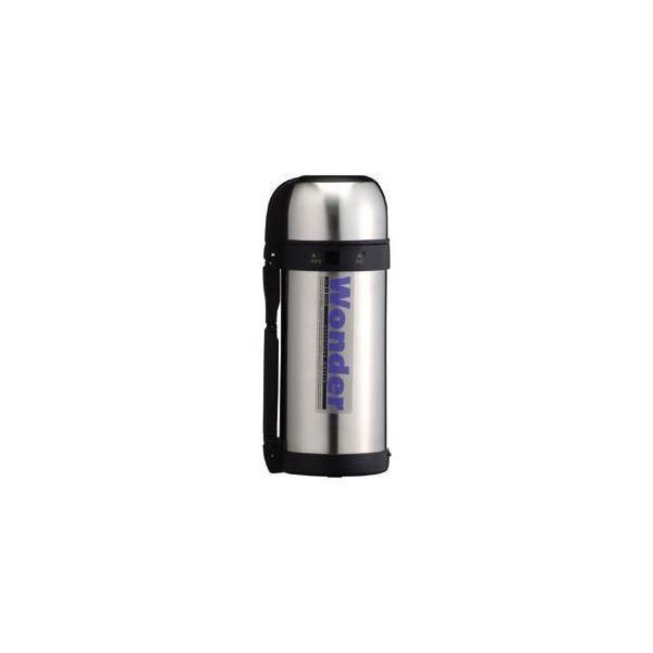 〔12個セット〕 ワンダーボトル/水筒 〔1.5L〕 保温・保冷 コップタイプ 大容量サイズ ステンレス真空断熱構造