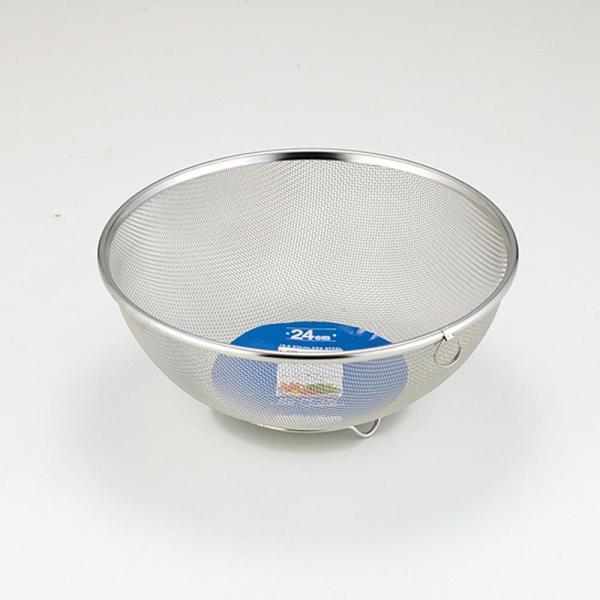ミズリードII 18-8ボール型ザル 24cm SH8623