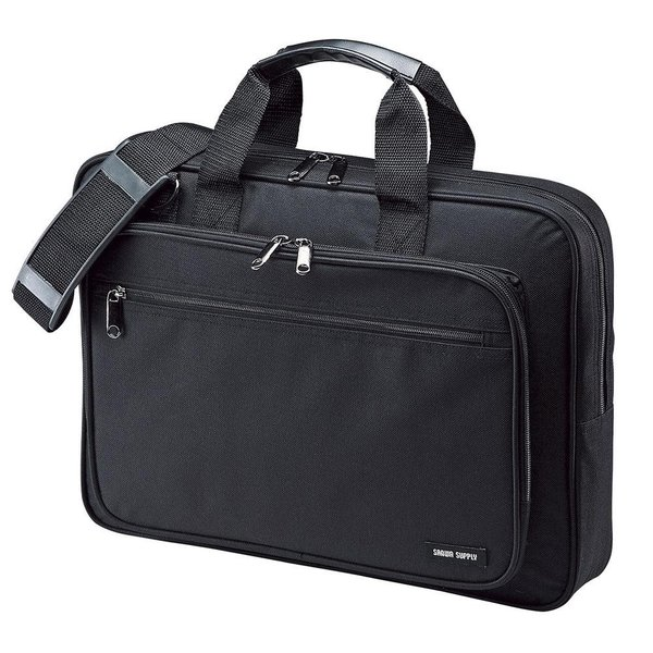 サンワサプライ PCキャリングバッグ(15.6インチワイド・シングル・ブラック) BAG-U52BK2