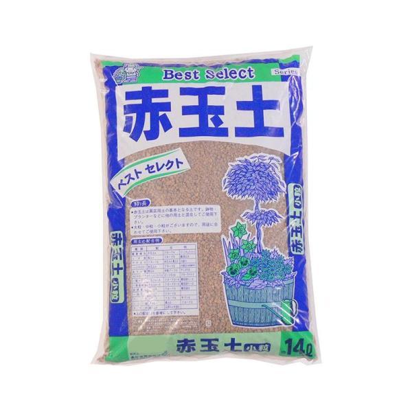 (代引不可)あかぎ園芸 赤玉土 小粒 14L 4袋