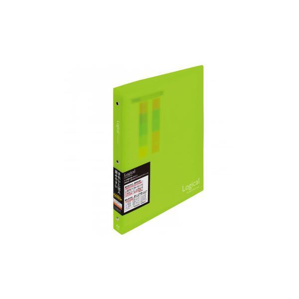 ナカバヤシ ロジカルバインダーノート A4ワイド グリーン BN-A402A-G