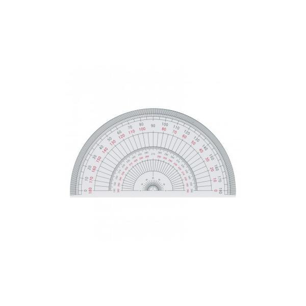 半円分度器 15cm型 1-822-0103