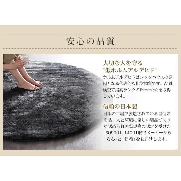 シャギーラグ フェイクファーラグ 日本製 ラグ 防ダニ・消臭・防炎・抗アレルギー機能 フェイクファー ラグ Rojye ロジェ 140×200cm|kagu-refined|13