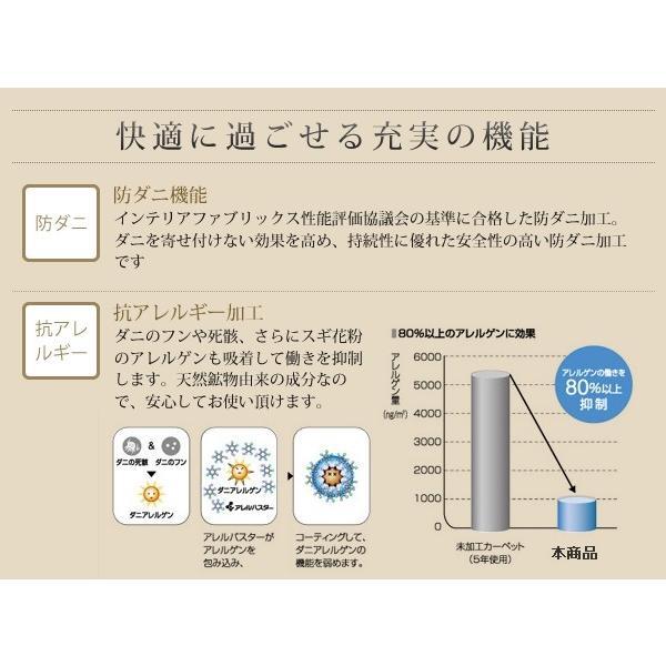 シャギーラグ フェイクファーラグ 日本製 ラグ 防ダニ・消臭・防炎・抗アレルギー機能 フェイクファー ラグ Rojye ロジェ 140×200cm|kagu-refined|14