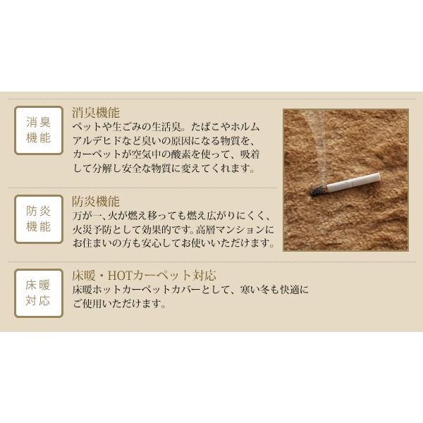 シャギーラグ フェイクファーラグ 日本製 ラグ 防ダニ・消臭・防炎・抗アレルギー機能 フェイクファー ラグ Rojye ロジェ 140×200cm|kagu-refined|15