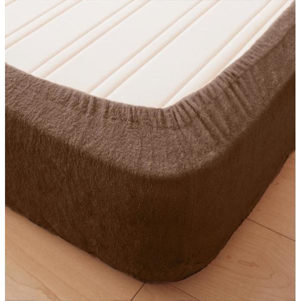 敷きパッド一体型ボックスシーツ マットレスカバー セミダブル 洗える コットンタオル|kagu-refined|04