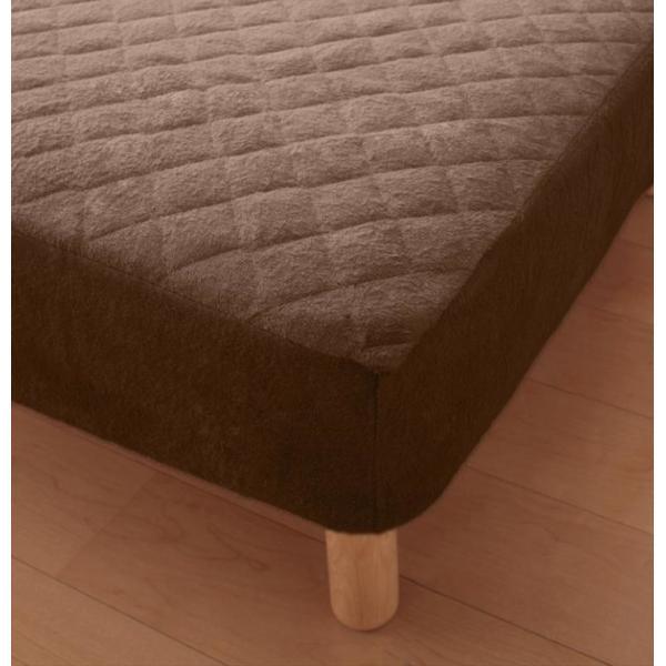 敷きパッド一体型ボックスシーツ マットレスカバー セミダブル 洗える コットンタオル|kagu-refined|05
