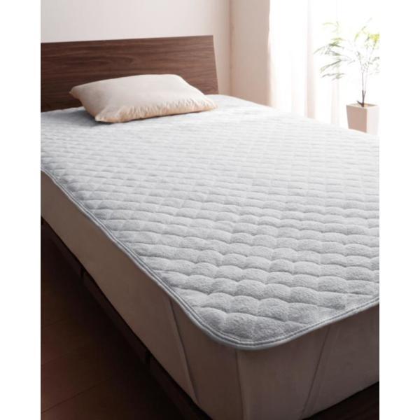 敷きパッド シングル 同色2枚セット 洗える コットンタオルの敷きパッド|kagu-refined|13