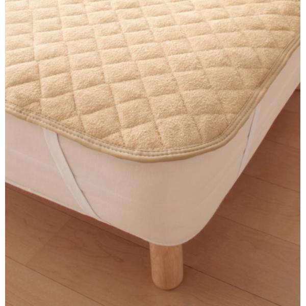 敷きパッド シングル 同色2枚セット 洗える コットンタオルの敷きパッド|kagu-refined|05