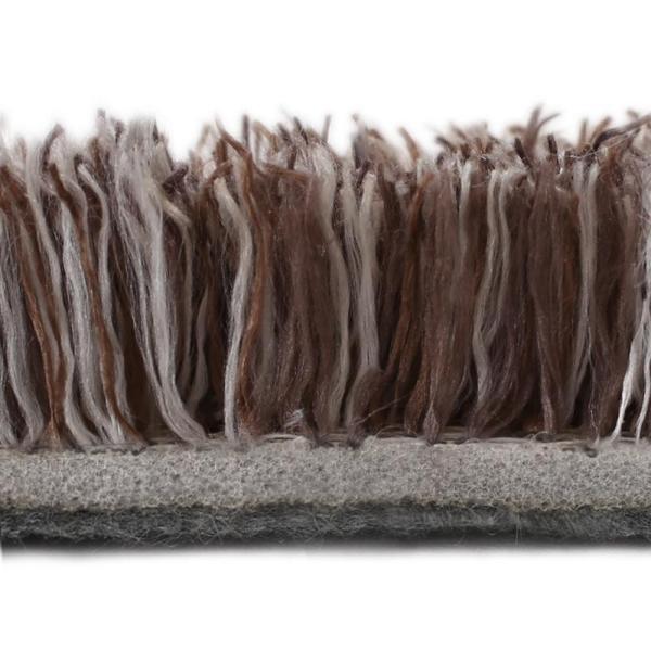 送料無料 ラグ ラグマット おしゃれ ミックスカラー マイクロファイバー シャギーラグ 190×190cm 約2畳 5mm厚 ホットカーペットOK 床暖房対応|kagu-refined|04