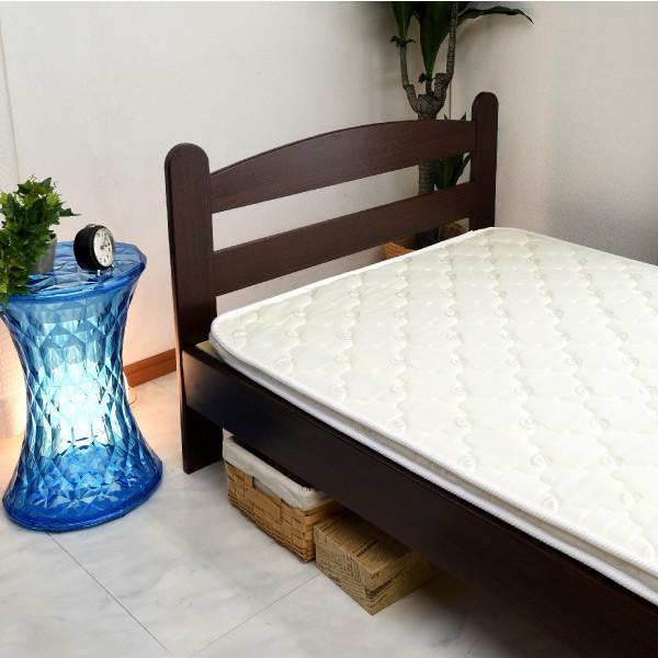 ベット ベッド すのこベッド シングルベッド ボンネルコイルマットレス付 超激安ベッド(HRO159)-ART|kagu-try|14